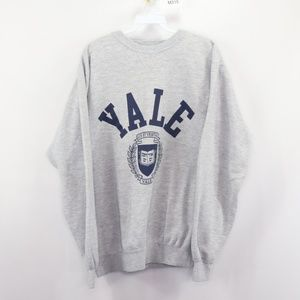 Vintage Yale University Spell Out Crewneck Sweater